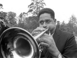 Dizzy Gillespie July 1963 Jazz Man at Fort Belvedere Near Ascot Photographic Print