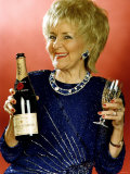Lynne Perrie Actress Stars in Coronation Street Celebrates Her 60th Birthday Photographic Print