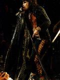 Steve Tyler of Aerosmith Fotografisk tryk