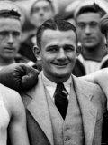 Canadian Bantamweight Boxer Bobby Leitham. June 1933 Photographic Print