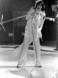 Rod Stewart and the Faces in Concert in the U.S.A., April 1975 Lámina fotográfica