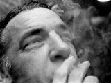 1960s Jazz Performer Buddy Rich, Drummer Smoking a Cigarette Photographic Print