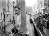 Jazz Performer Stan Getz at Ronnie Scott's Jazz Club, Master Tenor Saxophonist Photographic Print