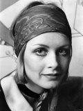 Model Twiggy. March 1968 Photographic Print