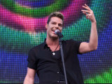 Ricky Martin at the Party in the Park, at Hyde Park For the Princes Trust, July 1999 Photographic Print