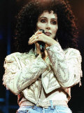 Cher Pop Singer and Actress Photographic Print