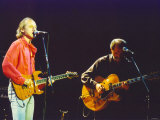 Mark Knopfler, Formerly of Dire Straits, Playing with His Alternative Band the Notting Hillbillies Photographie