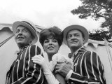 Bing Crosby, Joan Collins and Bob Hope 1961 Photographic Print