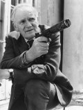 Desmond Llewelyn Actor in June 1981, Who Appears as 'Q' in the James Bond Films Photographic Print