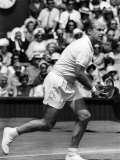 Ron Holmburg Seen Here in Action at Wimbledon. June 1964 Photographic Print
