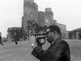 Dizzy Gillespie Jazz Man July 1963 at Fort Belvedere Near Ascot Photographic Print