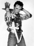 Adam Ant Pictured in His New Costume, September 1984 Fotografická reprodukce
