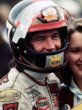 Barry Sheene World Motor Cycling Champion October 1977 Fotografisk tryk