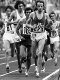 Olympic Games 1972: 10,000 MeterFinal Photographic Print