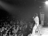 Rod Stewart and the Faces Concert in Usa. April 1975 Lámina fotográfica