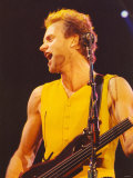Sting in Concert at Whitley Bay Ice Rink, 25th November 1991 Photographic Print