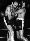 Henry Cooper Boxer Fighting Jose Urtain at Wembley, November 1970 Photographic Print