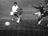 Manchester United vs Rapid Vienna, European Cup at Old Trafford Photographic Print