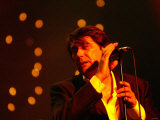 Bryan Ferry at the Newcastle City Hall, October 2002 Lmina fotogrfica