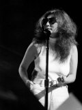 Yoko Ono Singing in a Charity Concert in New York with Her Husband John Lennon. August 1972 Photographic Print