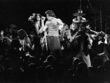 Boomtown Rats Tour of America. Bob Geldof Has the Crowd Rocking During the Denver Gig. April 1979 Photographic Print