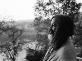 Maharishi Mahesh Yogi Who Met Up with the Beatles When They Visited India February 1968 Photographic Print