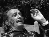 Salvador Dali - Artist - Painter - 1968 Photographie