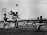 English FA Cup Match at Portman Road Ipswich Town vs Manchester United Photographic Print