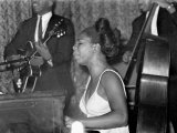 Jazz Singer Nina Simone, Performing at Annie's Club, June 1965 Photographic Print