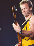Sting in Concert at Whitley Bay Ice Rink, 25th November 1991 Fotografisk tryk