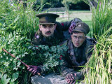 Cast of Blackadder Goes Forth in Costume For Photocall Photographie