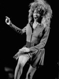 Tina Turner Singer Actress in Concert at Birmingham National Exhibition Fotografisk tryk