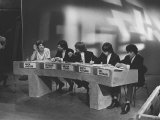 Rolling Stones in TV Studio Recording an Edition of Juke Box Photographic Print
