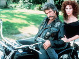 "Cher Singer Actress and Sam Elliott in ""Mask"" Photographic Print"