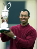 Tiger Woods Golfer Wins Open Golf Championship St Andrews Stampa fotografica