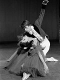 Rudolf Nureyev and Margot Fonteyn During Press Call For Royal Ballet Photographic Print