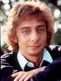 Barry Manilow Singer. 1983 Photographic Print