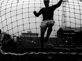 Bobby Charlton Scores a Goal For Manchester United Against Blackpool March 1967 Photographic Print