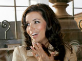 Eva Longoria at Harrods in Knightsbridge, London, Where She Opened the Winter Sales, December 2006 Fotografie-Druck