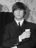 Beatles 1964 John Lennon 1964 Photographie