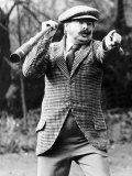 Benny Hill Comedian Went Bird Hunting in Reading Photographic Print