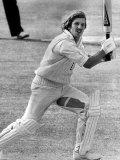 England Cricket Star Ian Botham Became First in History to Score Century and Take 8 Wickets Fotografisk trykk