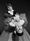 Rudolf Nureyev and Margot Fonteyn During Press Call For Royal Ballet Photographic Print