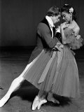Rudolf Nureyev and Margot Fonteyn During Press Call For Royal Ballet Lámina fotográfica