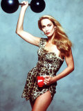 Jerry Hall Model Dressed to Advertise Chicken Bovril For a Commercial Photographic Print