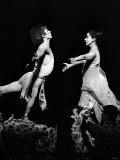 Rudolf Nureyev and Margot Fonteyn at Royal Ballet's Production of Pelleas et Melisande Stampa fotografica