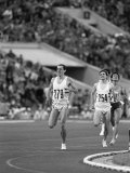 Steve Ovett and Sebastion Coe in 800 MeterRace 1980 at Moscow Olympics Photographic Print