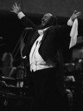 Tenor Luciano Pavarotti in Concert 1991 Fotografie-Druck