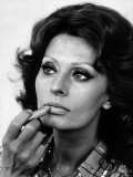 Sophia Loren Actress October 1985 Photographic Print