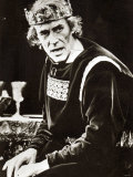 Peter O'Toole as Macbeth at London's Old Vic Theatre, September 1980 Photographie